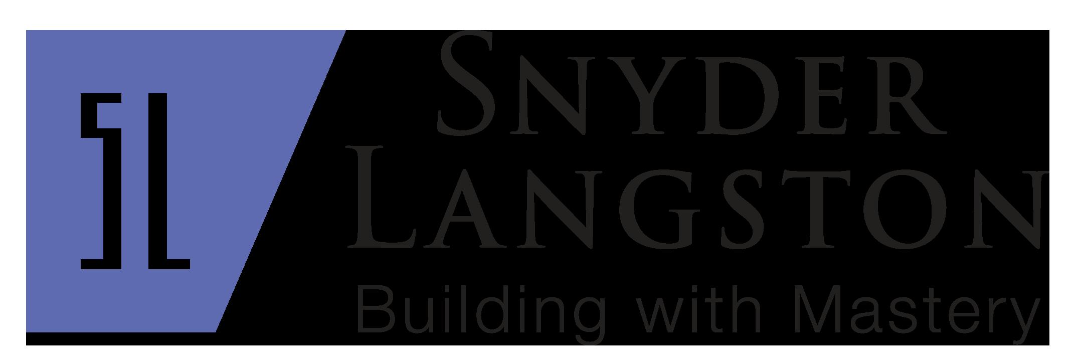 Snyder Langston sponsor